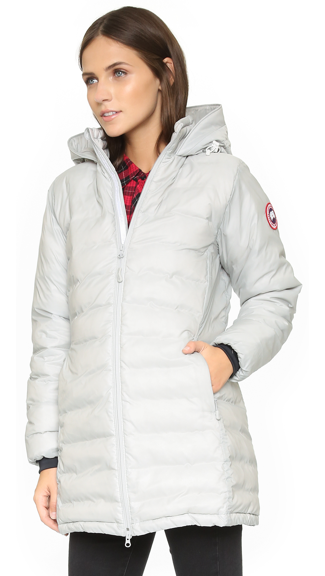 6427c44409e cheap canada goose camp slim fit hooded packable down jacket uk ...