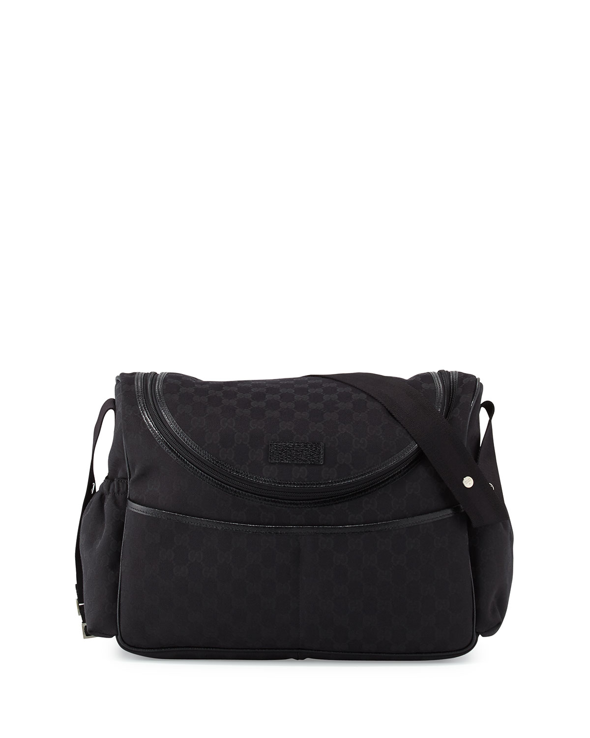 9aa1c8681ecdb6 Gucci Travel Gg Canvas Diaper Bag W/ Changing Pad in Black for Men ...
