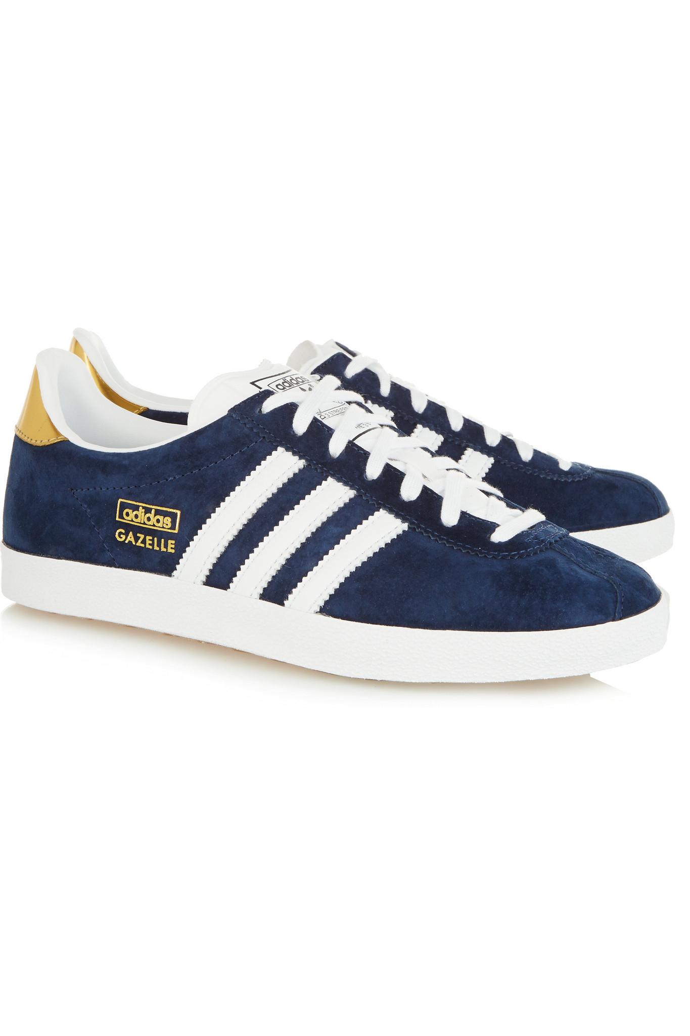 Adidas Originals Gazelle Dg Suede Sneakers in Blue - Lyst