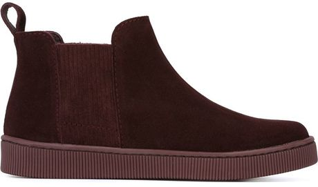 Pink Flat Ankle Boots Garcia Flat Ankle Boots in