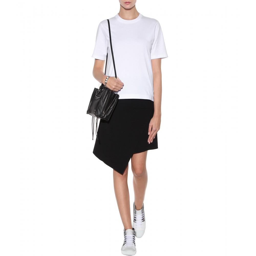 Balenciaga Cotton T Shirt In White Lyst