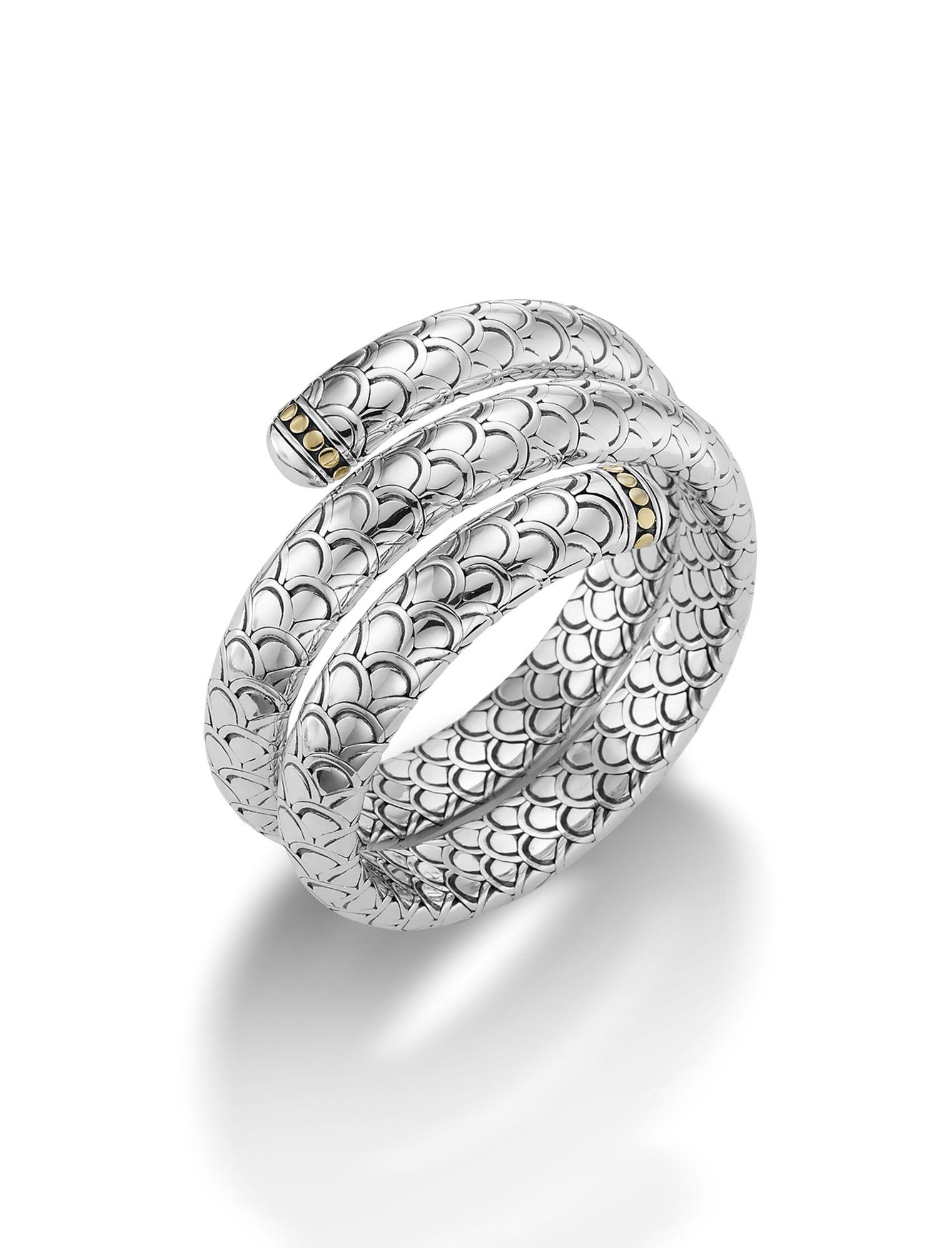 John Hardy Naga Multi Coil Bracelet o7bhc23u