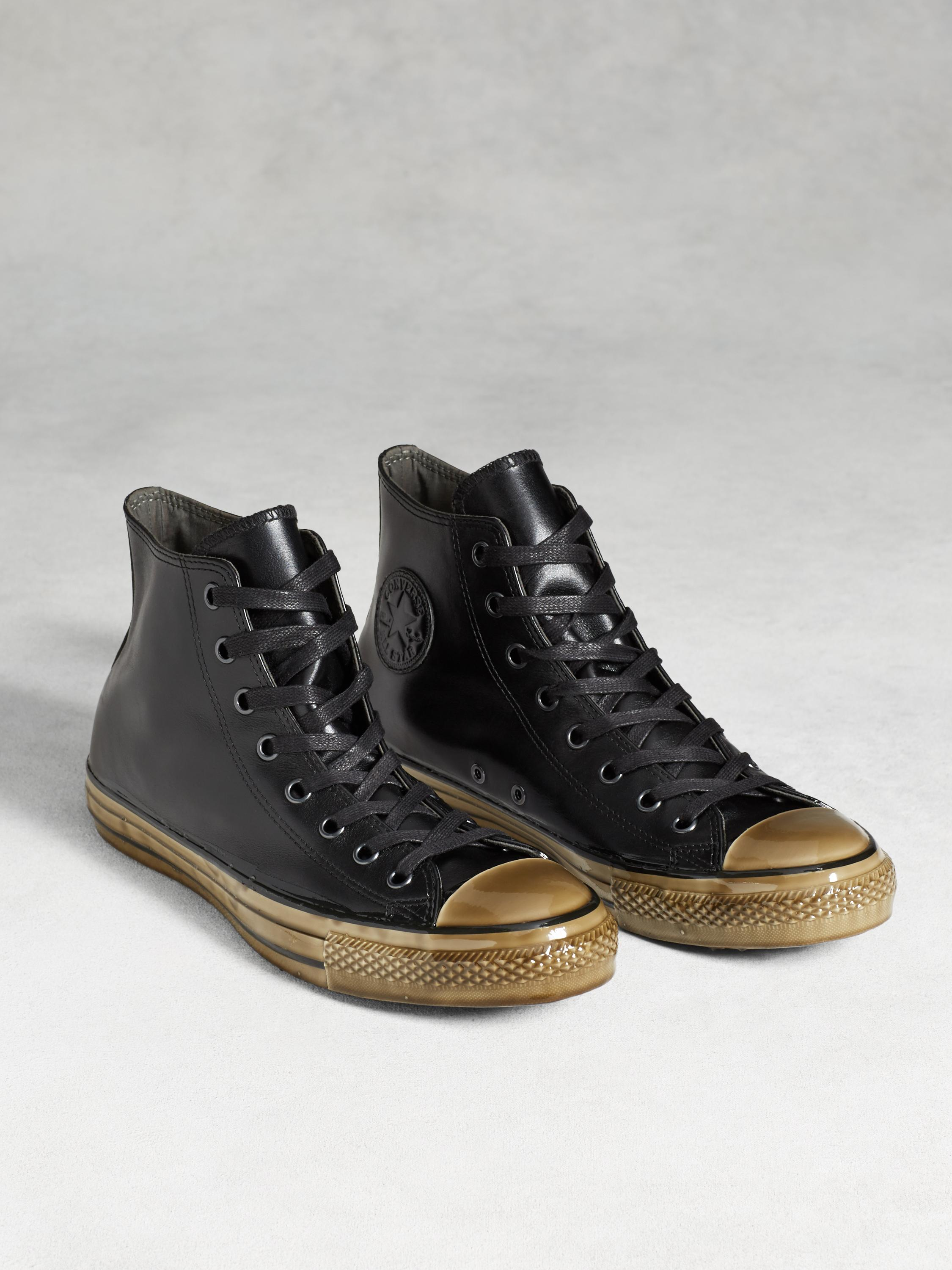 buy online 5c0ef e14a1 ... promo code for lyst john varvatos chuck taylor dipped outsole in black  for men b48c7 55366