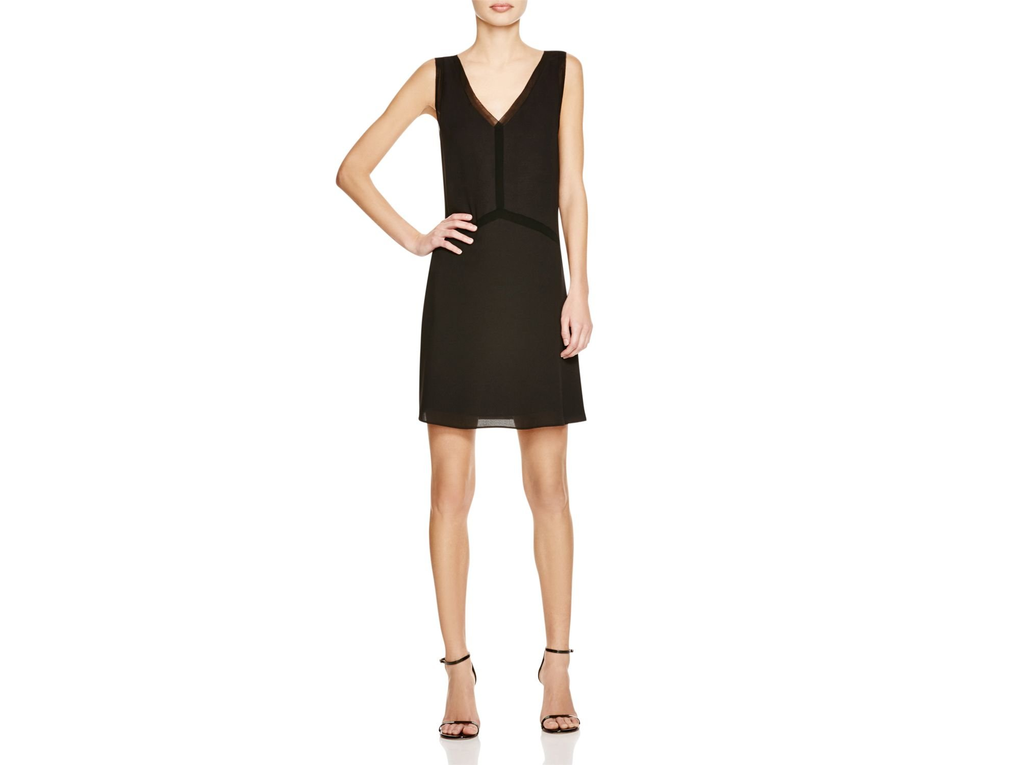5bafe04cdd96e7 Lyst - Cooper   Ella Nina Pico Dress in Black