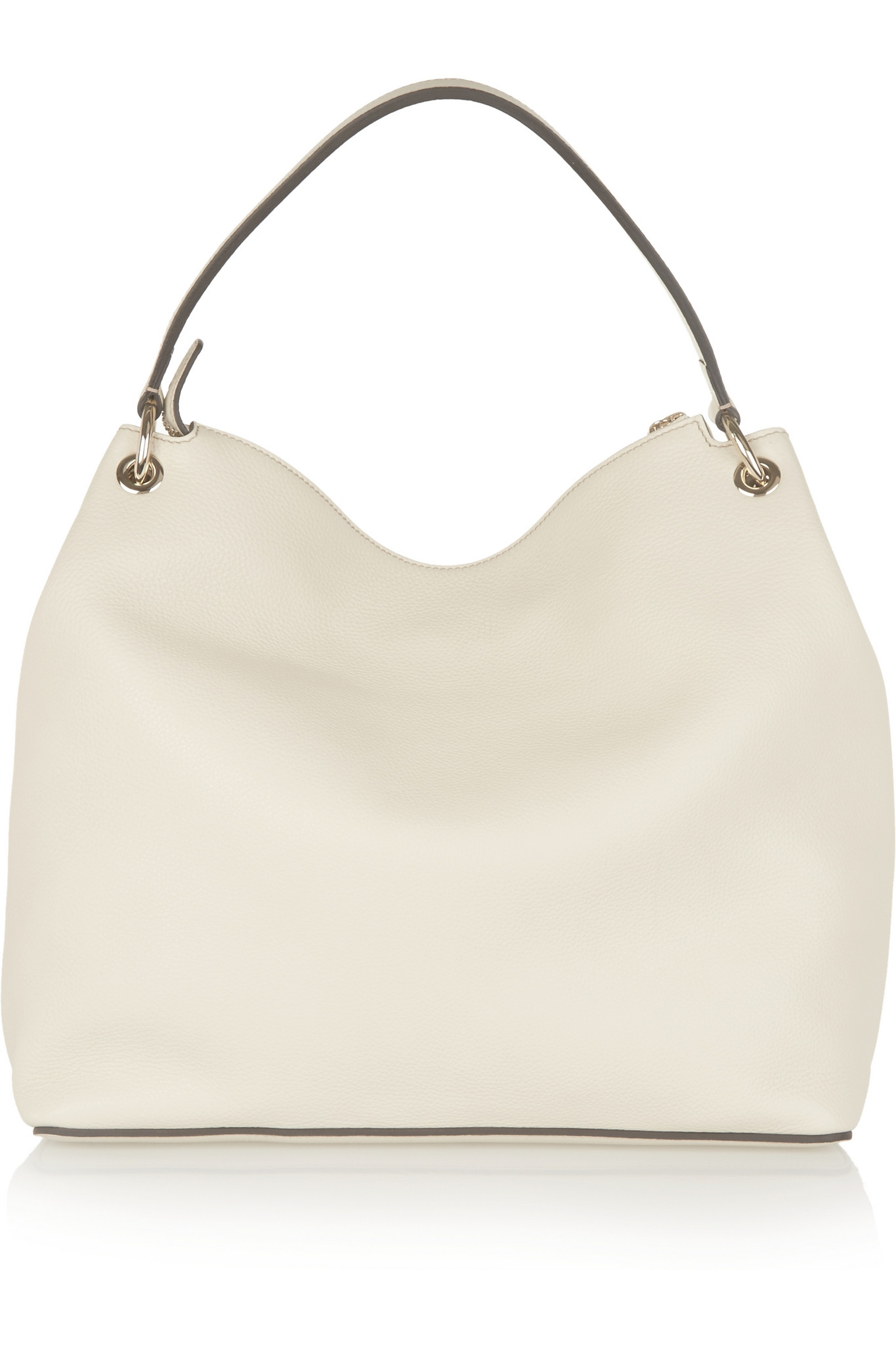 046b8aad06bb Gucci Soho Leather Hobo Bag in Natural - Lyst