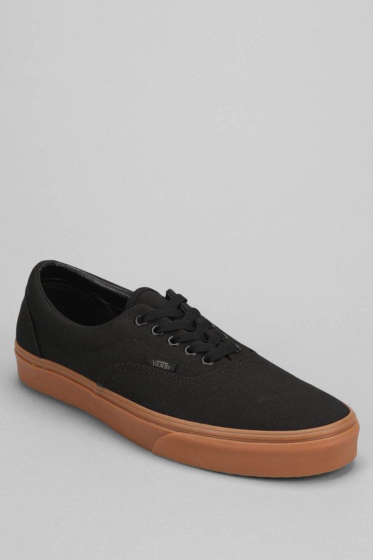 71c2d56ad499 Lyst - Vans Era Gum-Sole Men S Sneaker in Black for Men