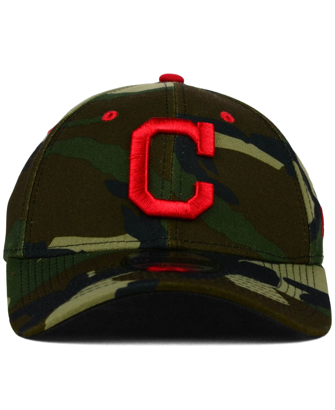 9483defa6e4cf4 ... canada lyst ktz cleveland indians camo classic 39thirty cap in green  for men aef65 0225c