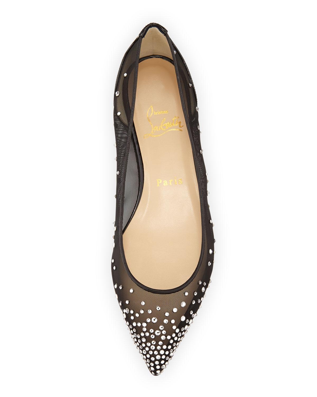 christian louboutin pigalle spiked ballerina flat shoes - Bavilon ...