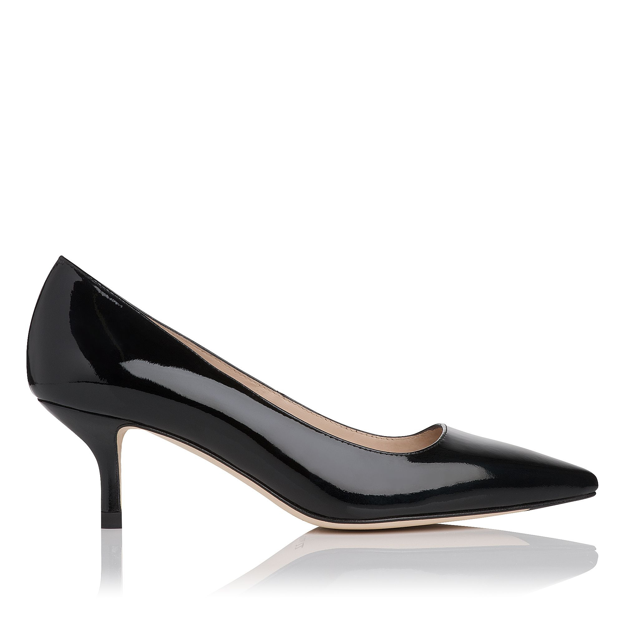 Black Leather Court Shoes Australia