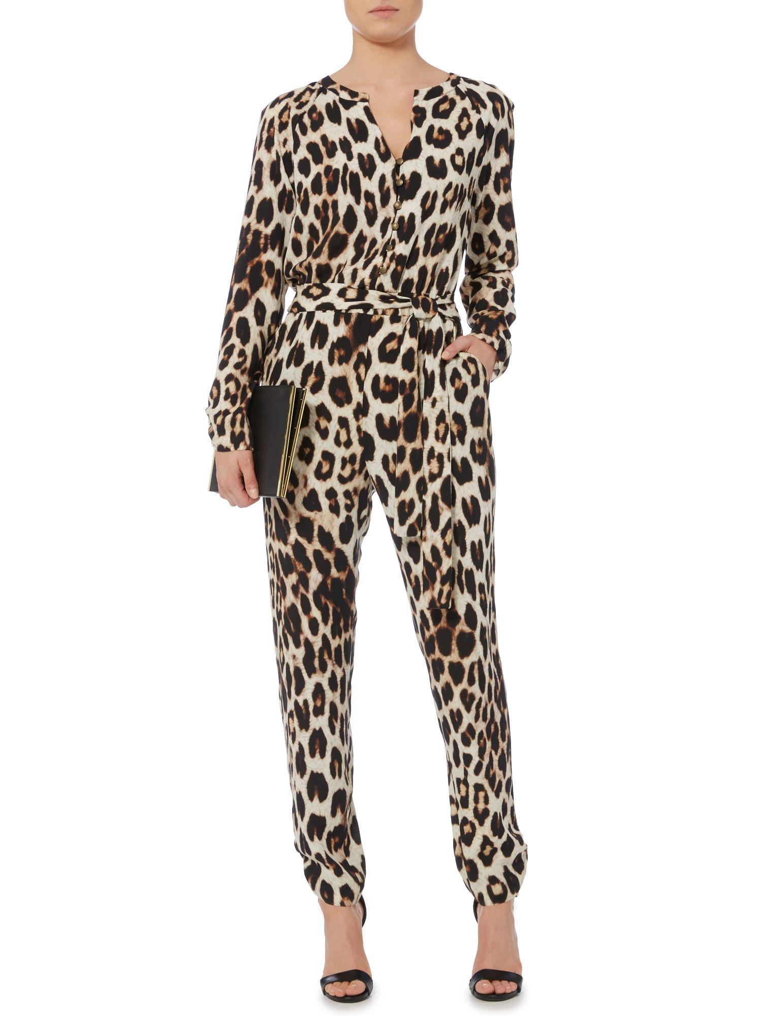 Biba Leopard Print Jum...