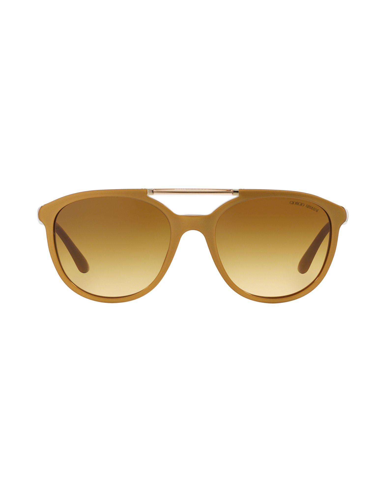 Giorgio armani Sunglasses in Gold | Lyst