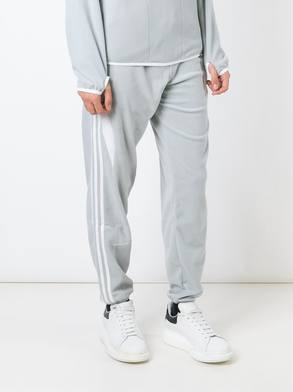8adfb931 adidas Originals ' X Palace' Fleece Joggers in Gray for Men - Lyst