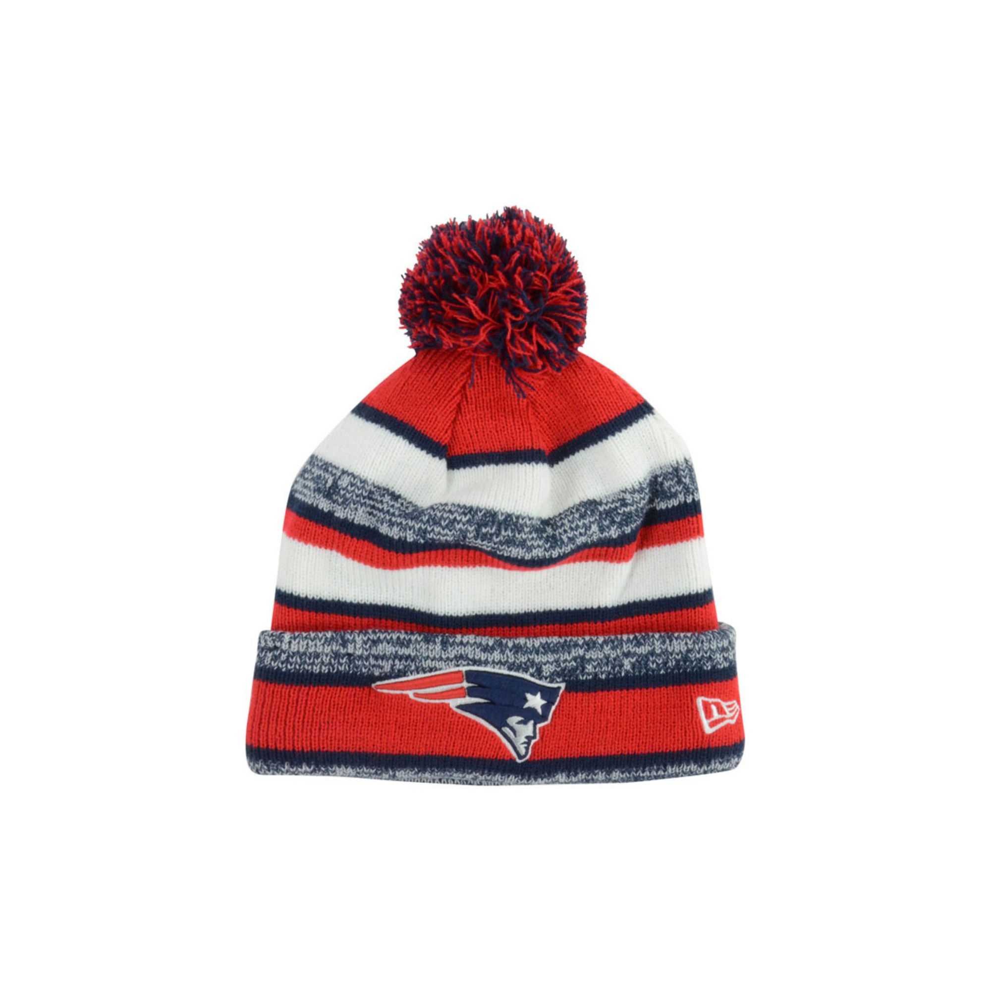 f555fbe181c Lyst - KTZ New England Patriots Sport Knit Hat in Red for Men