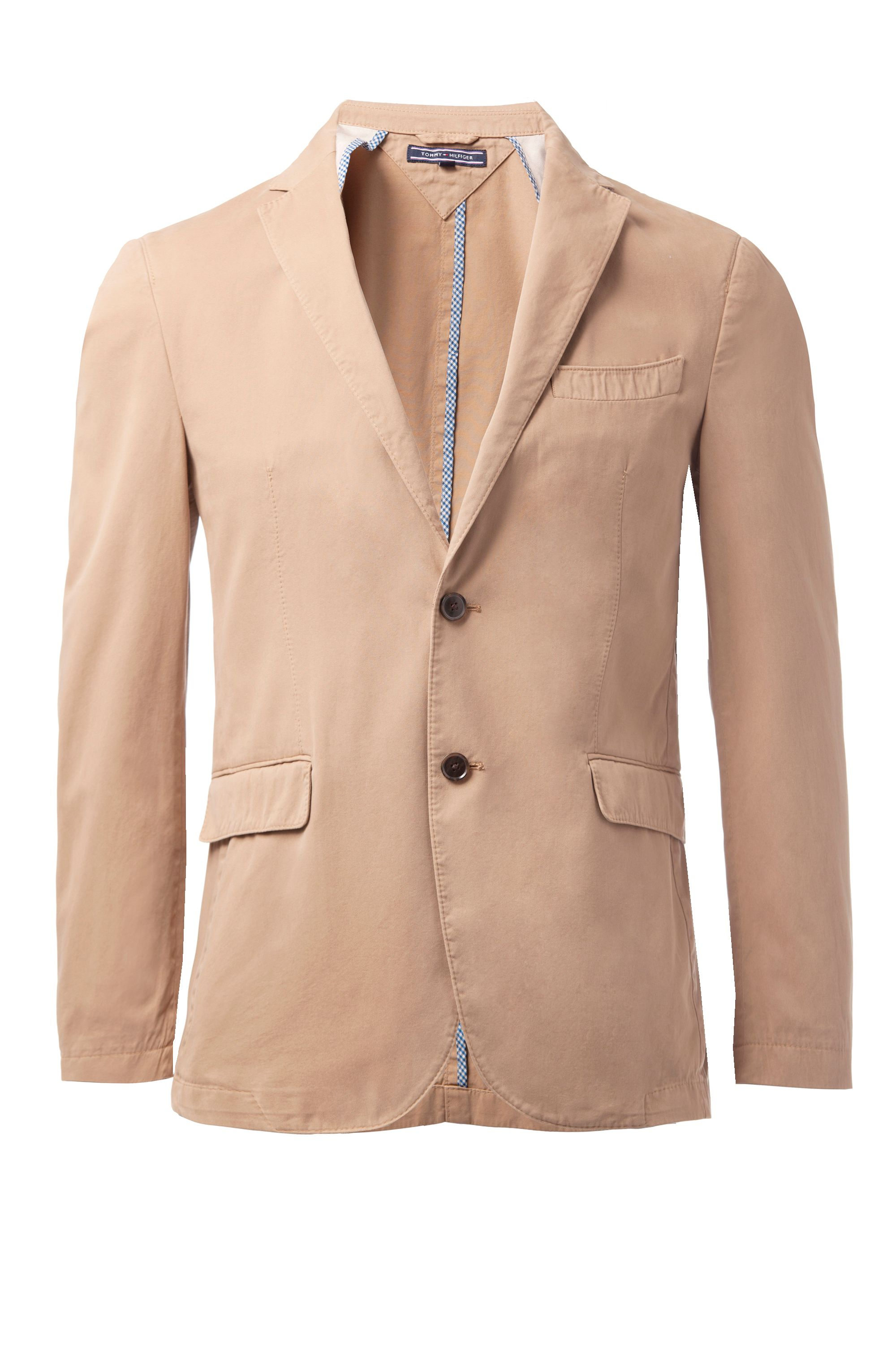 tommy hilfiger gmd twill clark casual blazer in beige for men lyst. Black Bedroom Furniture Sets. Home Design Ideas