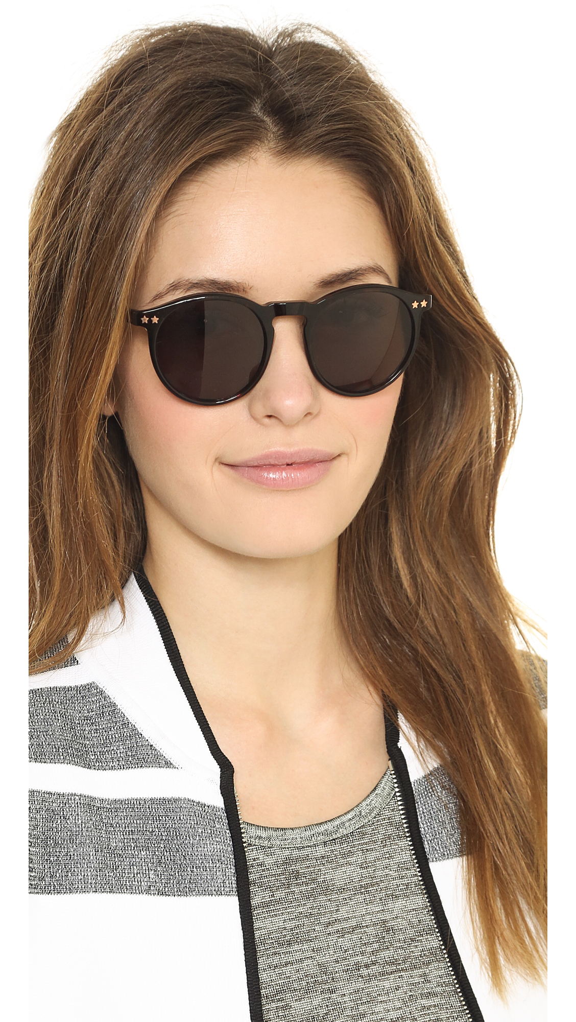 4dd942ed10 Lyst - Wildfox Steff Sunglasses in Brown
