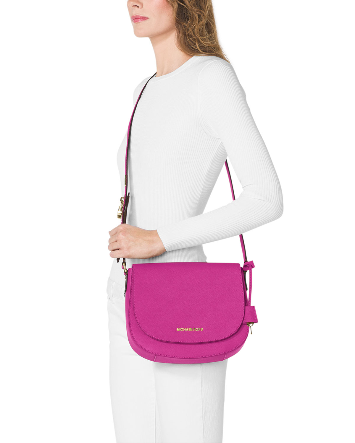 Gallery Previously Sold At Neiman Marcus Women S Michael By Kors Hamilton