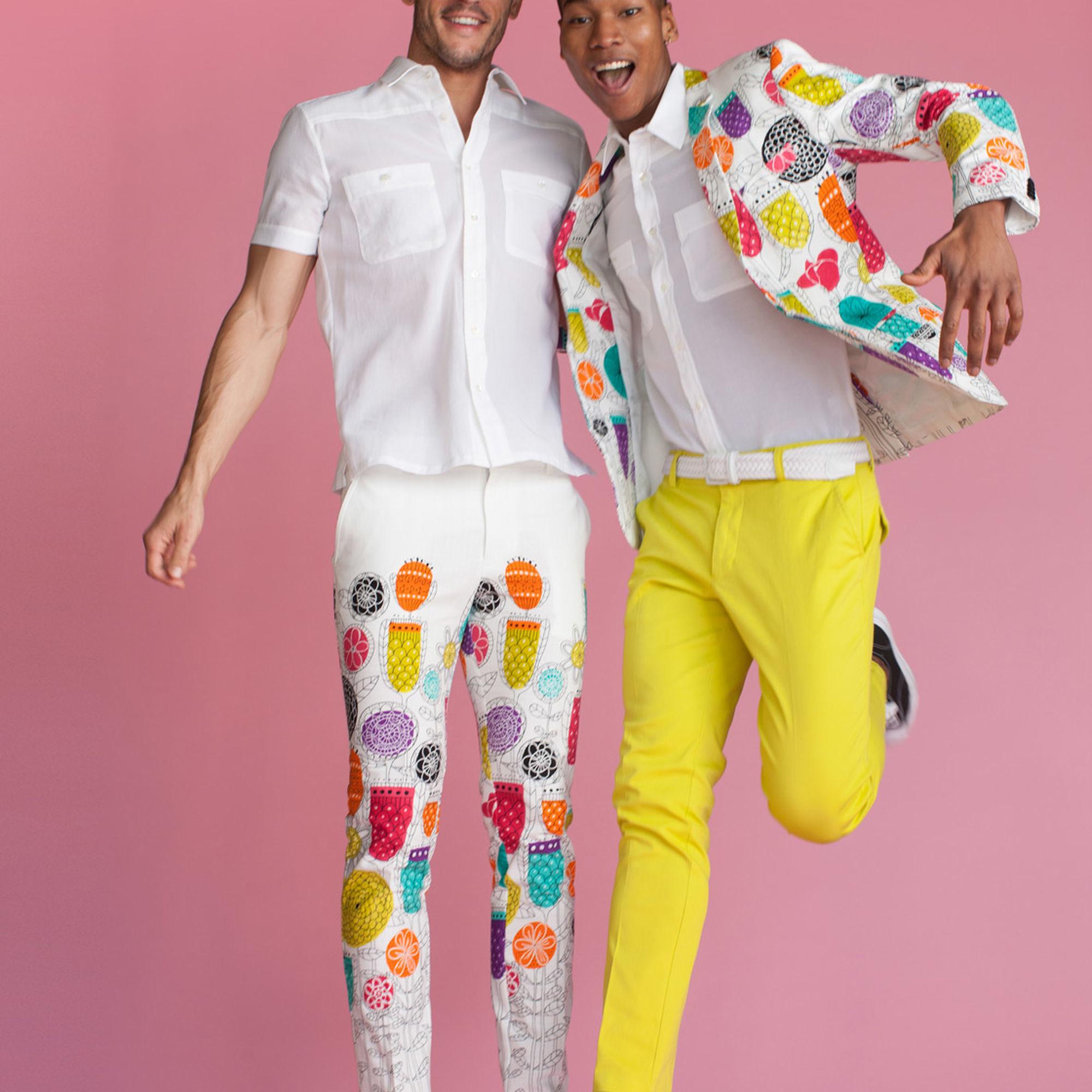 a45856e9c73 Lyst - Mr Turk Clyde Slim Trouser in White for Men