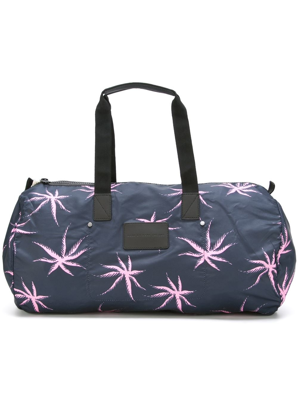 marc by marc jacobs starfish print holdall in blue