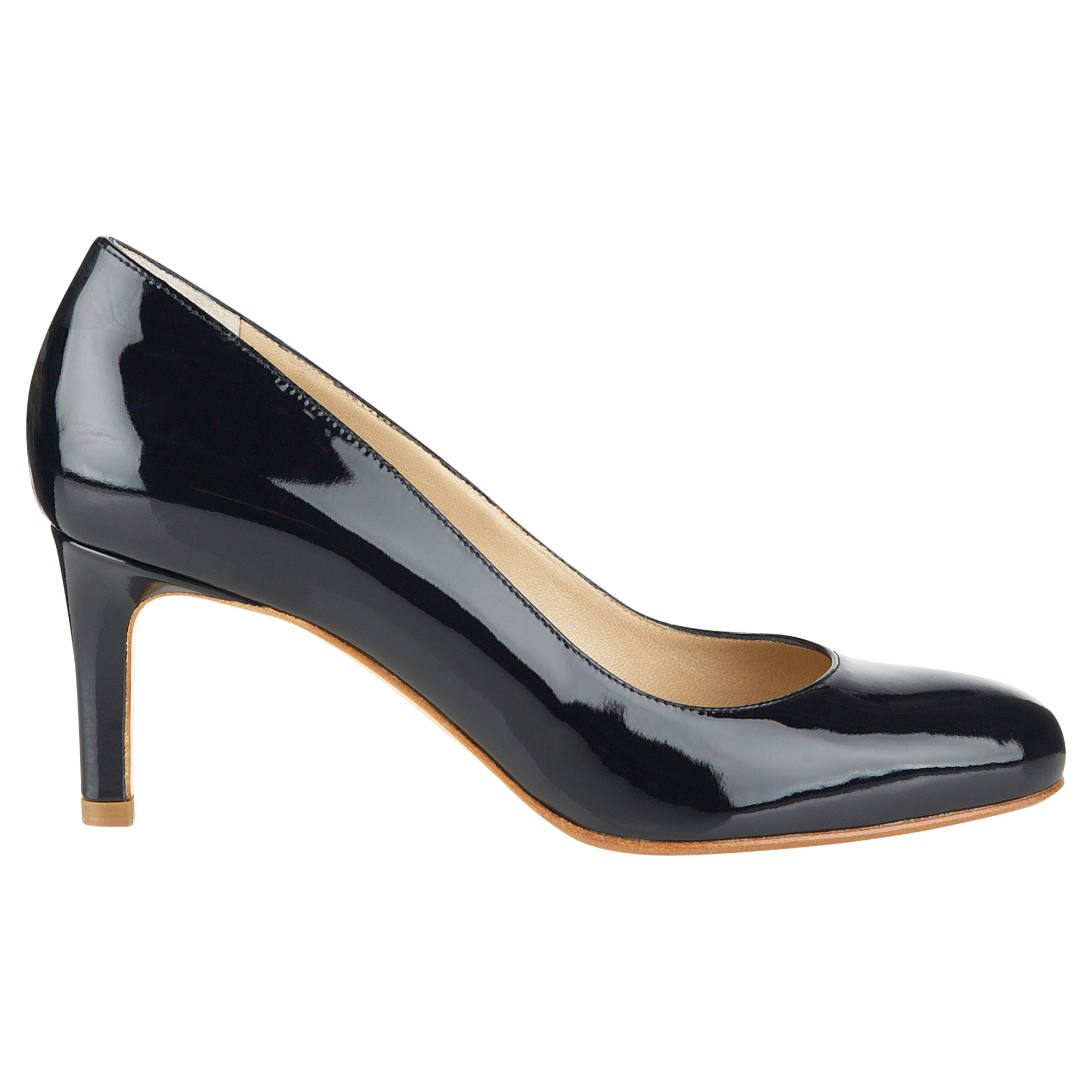eb93f3eb4 Hobbs Lizzie Leather Court Shoes in Blue - Lyst