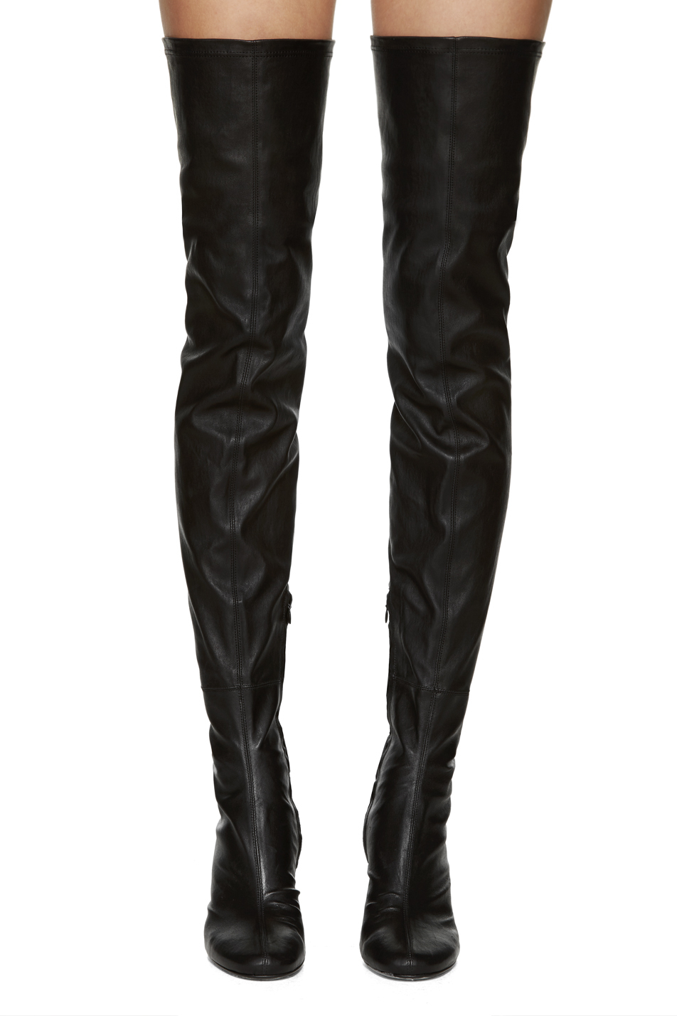 Dolce Vita Jimmy Over-the-Knee Suede Boots $ BUY NOW The thigh-high shaft of these Dolce Vita boots keep your legs looking long and lean (similar to the the effect of black tights).
