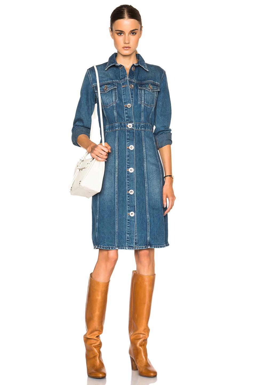 Original Escada Deliana Denim Dress In Blue  Lyst