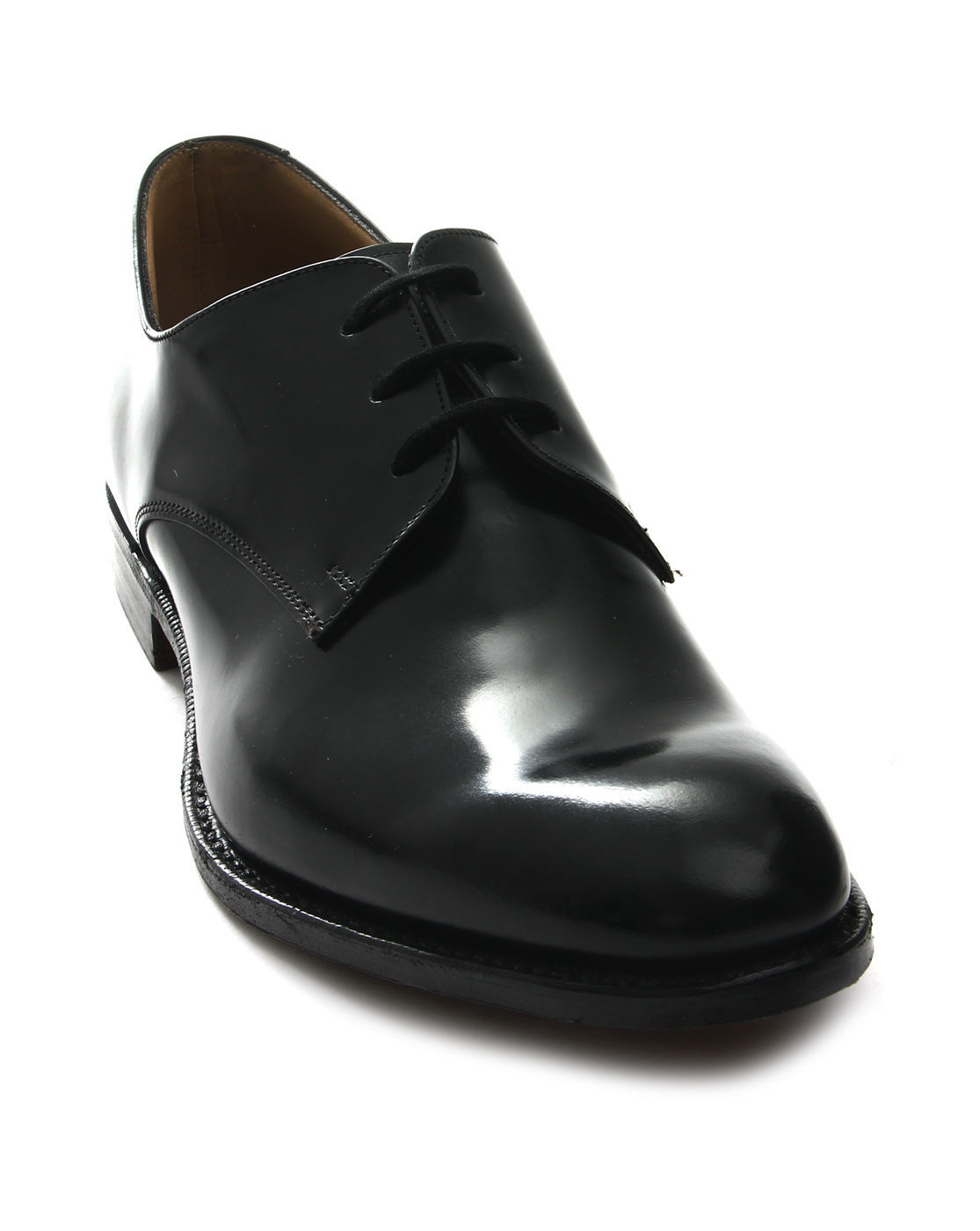 church s leather derby shoes in black for lyst