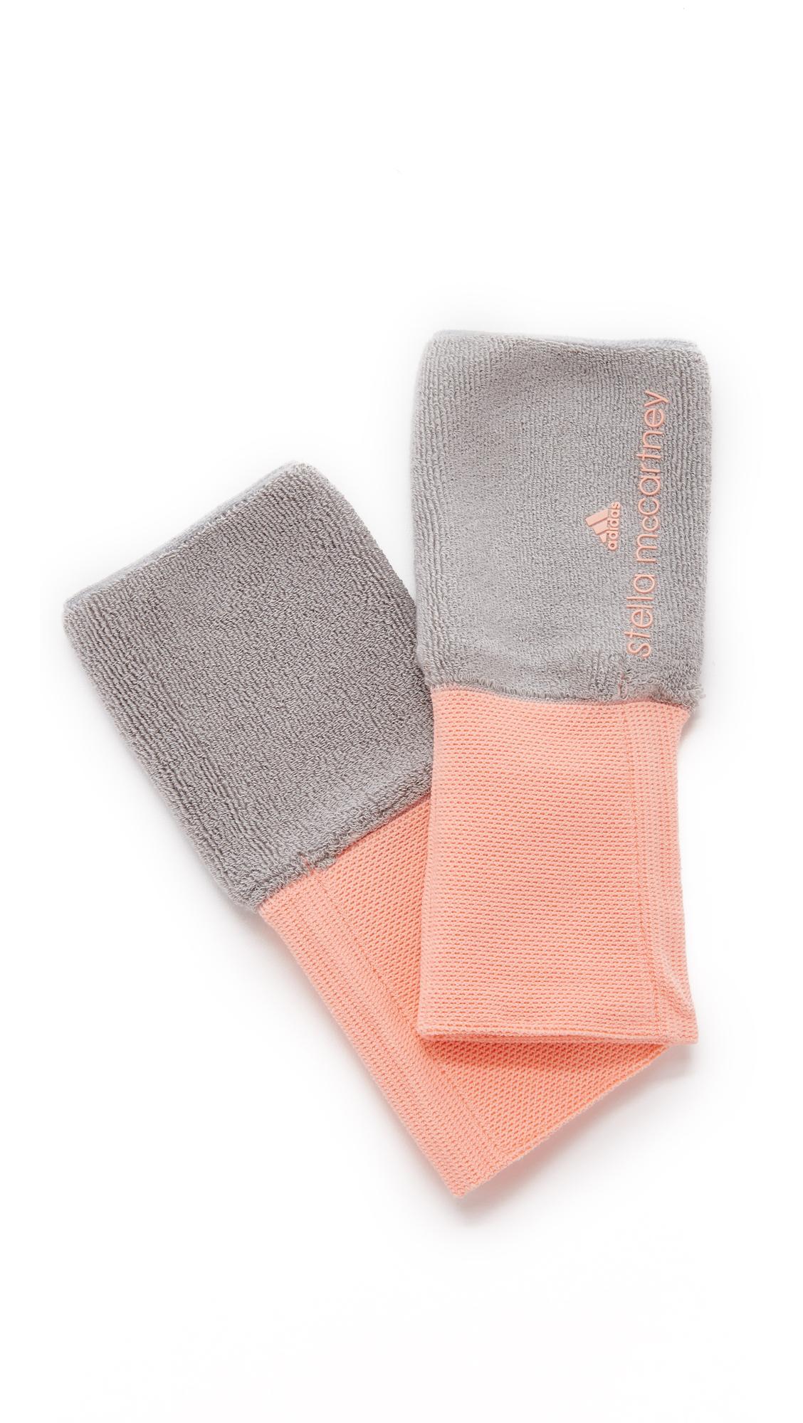 Lyst adidas da stella mccartney tennis braccialetti in rosa