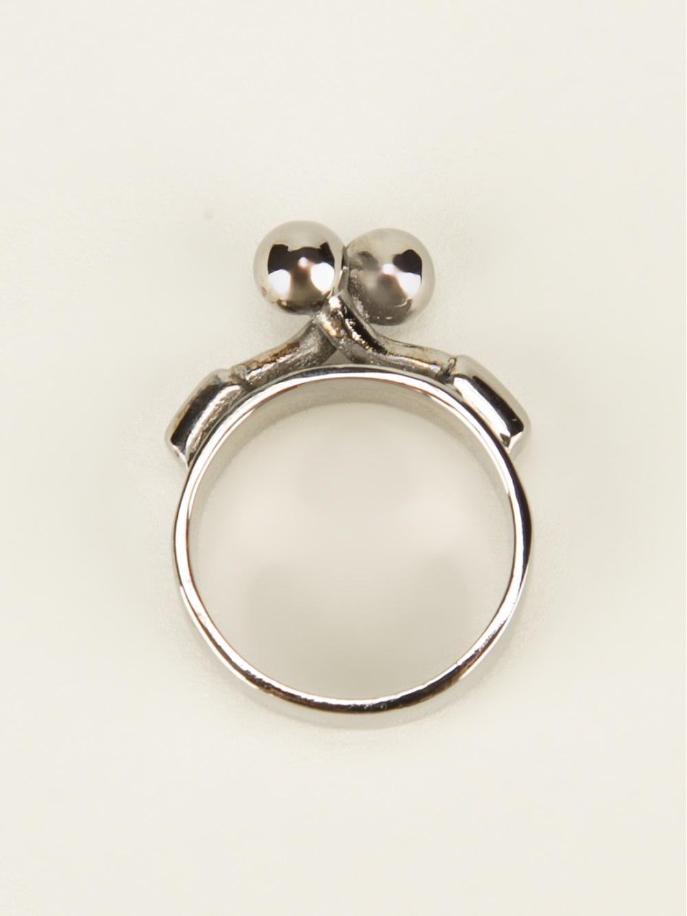 Lyst mm6 by maison martin margiela clasp front ring in for A la maison lotion