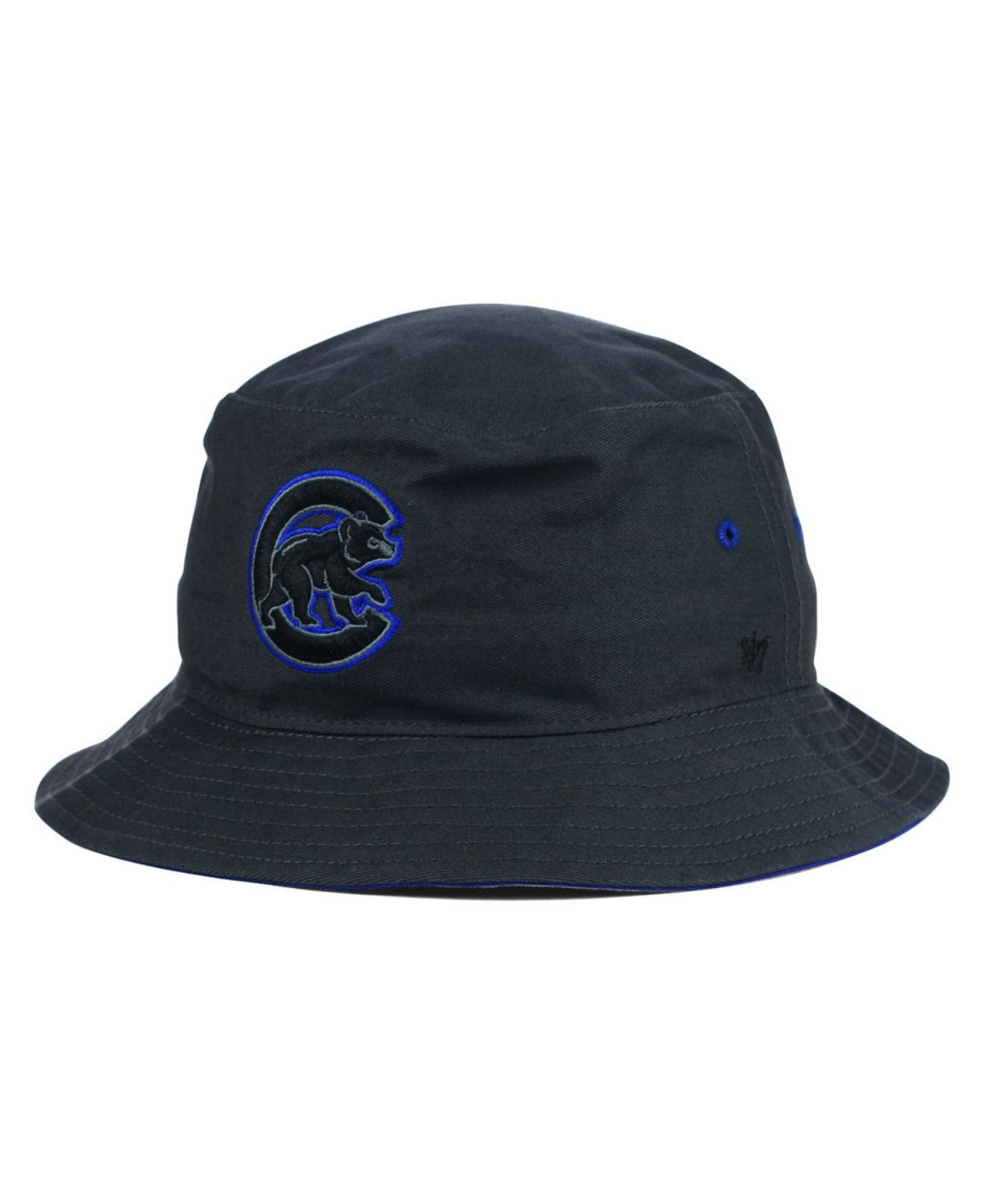35e7c3ccb15 Lyst - 47 Brand Chicago Cubs Turbo Bucket Hat in Blue