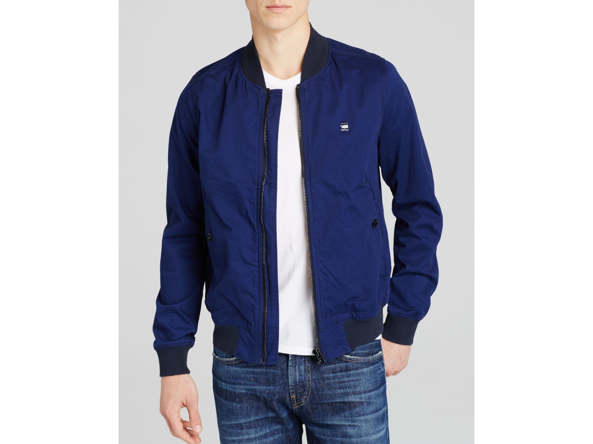 In Blue Raw Star For Lyst Bomber Jacket Shattor Men G c0wq7qEY