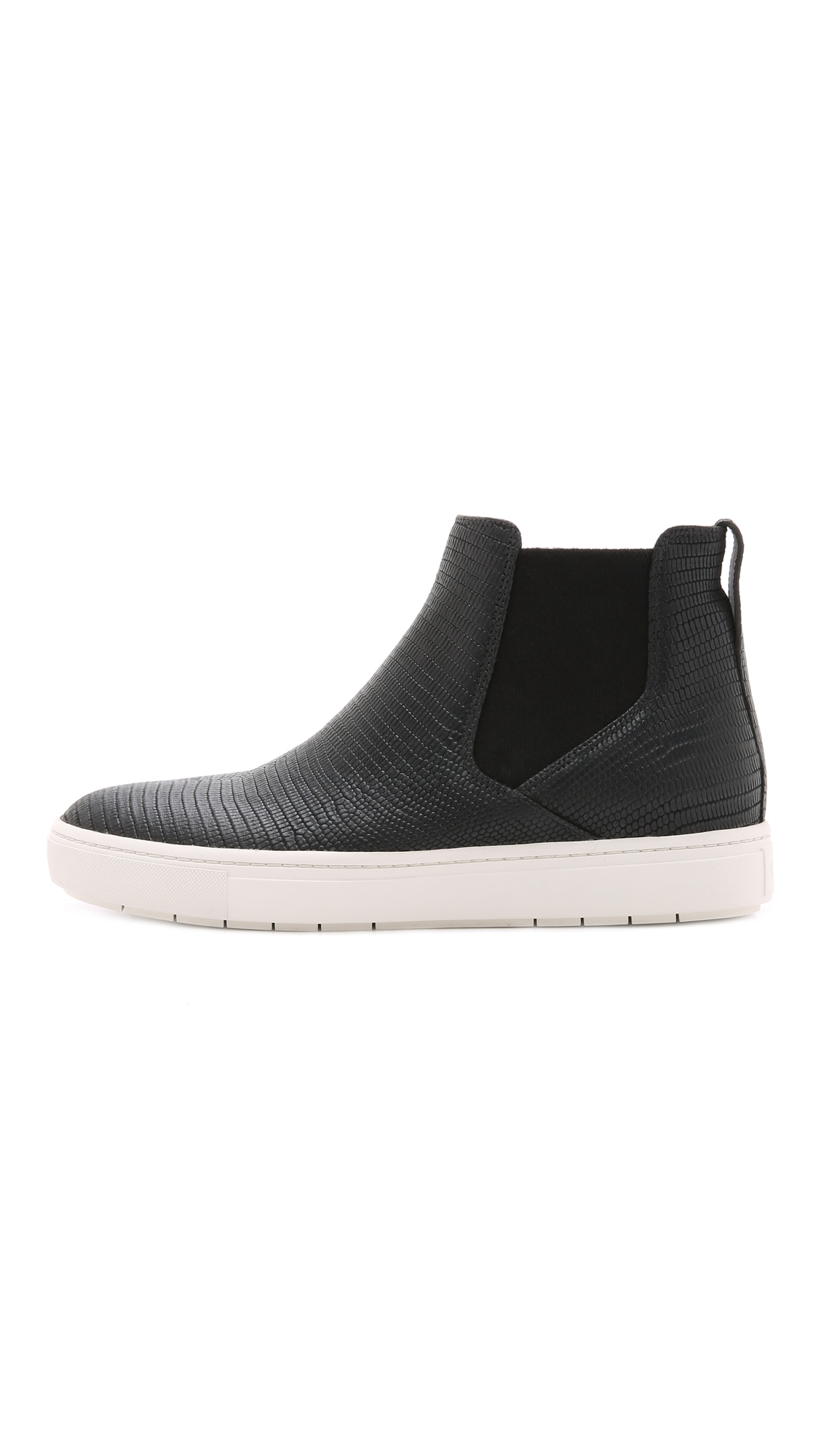 Lyst - Vince Newlyn Slip On High Top Sneakers