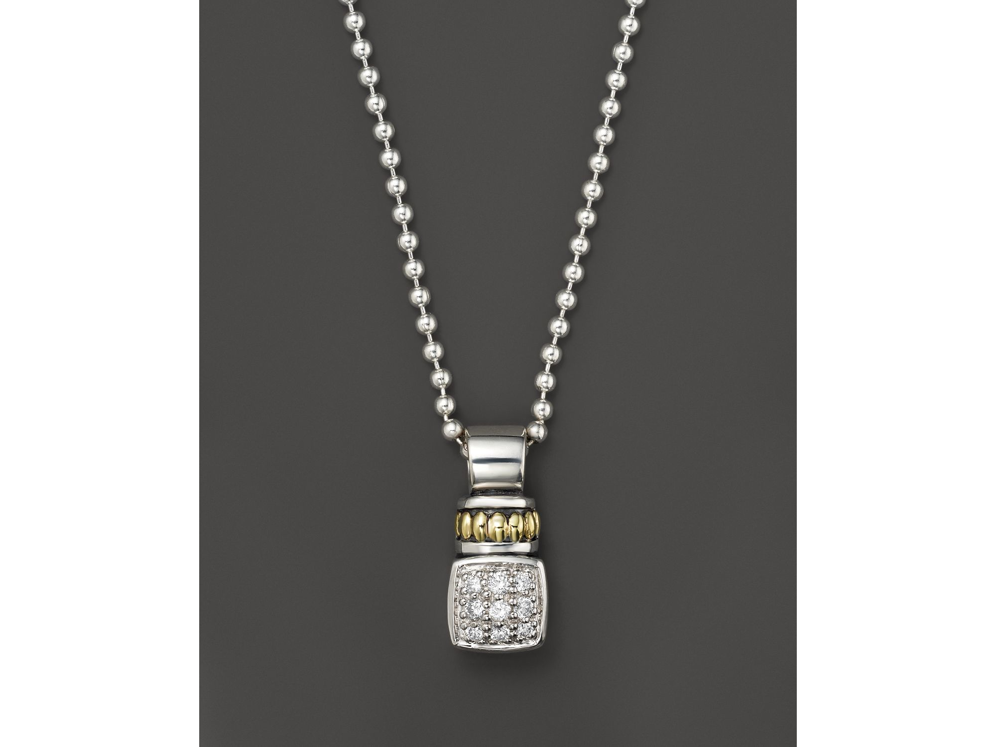 zeuner necklaces necklace jennifer hamsa products diamond jewelry pendant square enlarged