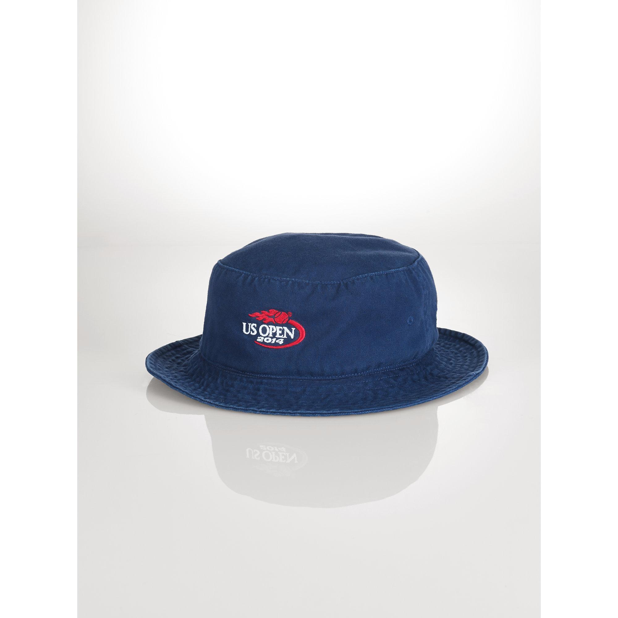 Lyst - Polo Ralph Lauren Us Open Bucket Hat in Blue for Men c7b4c90094ff