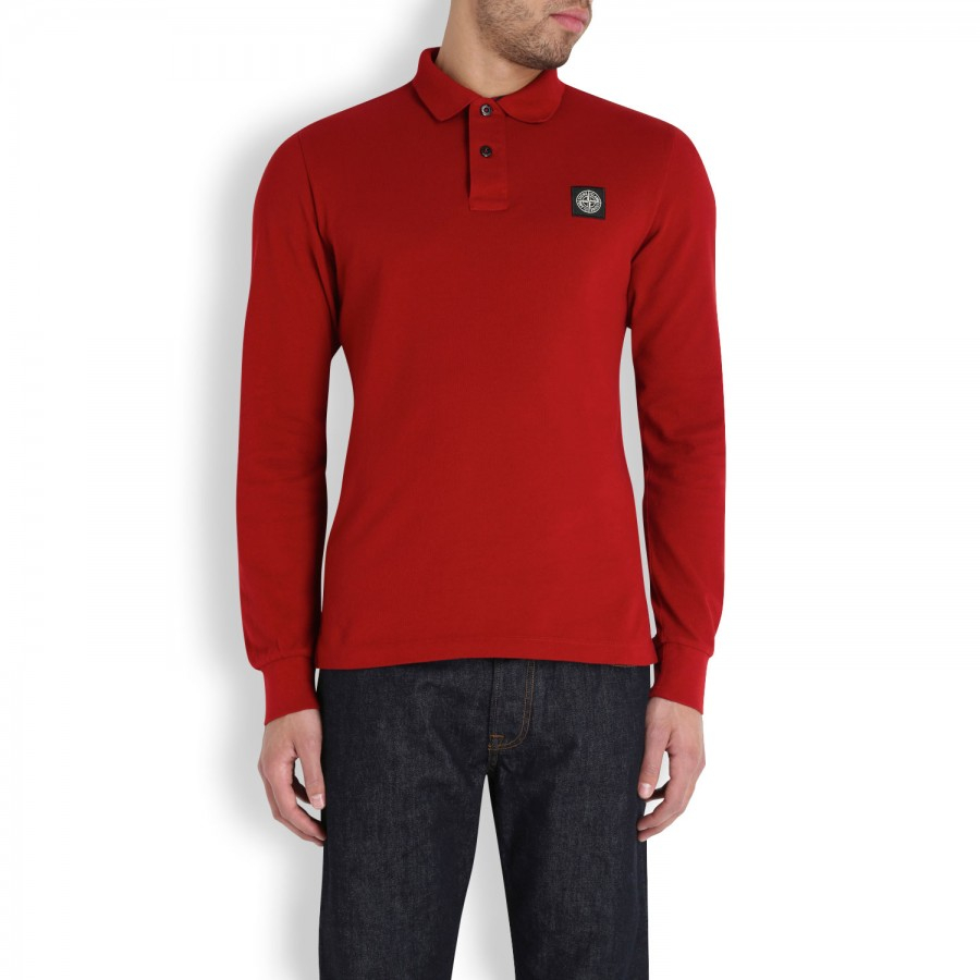stone island red polo shirt. Black Bedroom Furniture Sets. Home Design Ideas