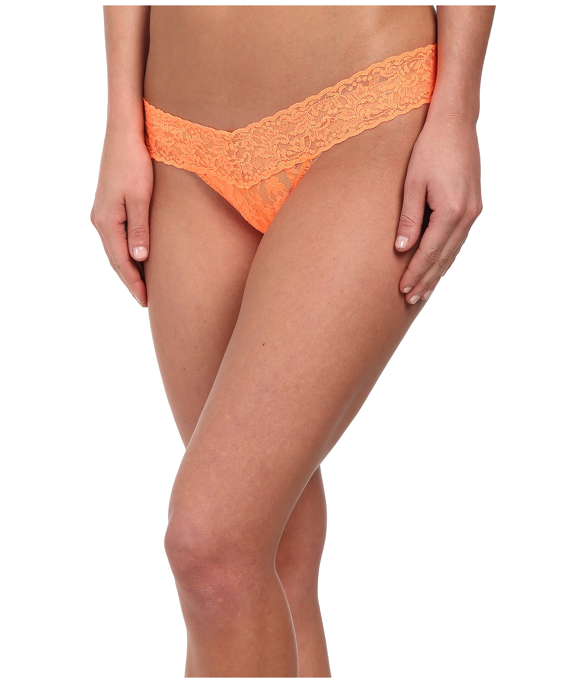 Victoria Secret Orange Thong With Sheer Stripes Size L, NWT. Brand New. Victoria's Secret Extra Low Rise Thong Halloween Bat Orange Lace L New w/ Tag. Brand New · Victoria's Secret · L · Thongs.