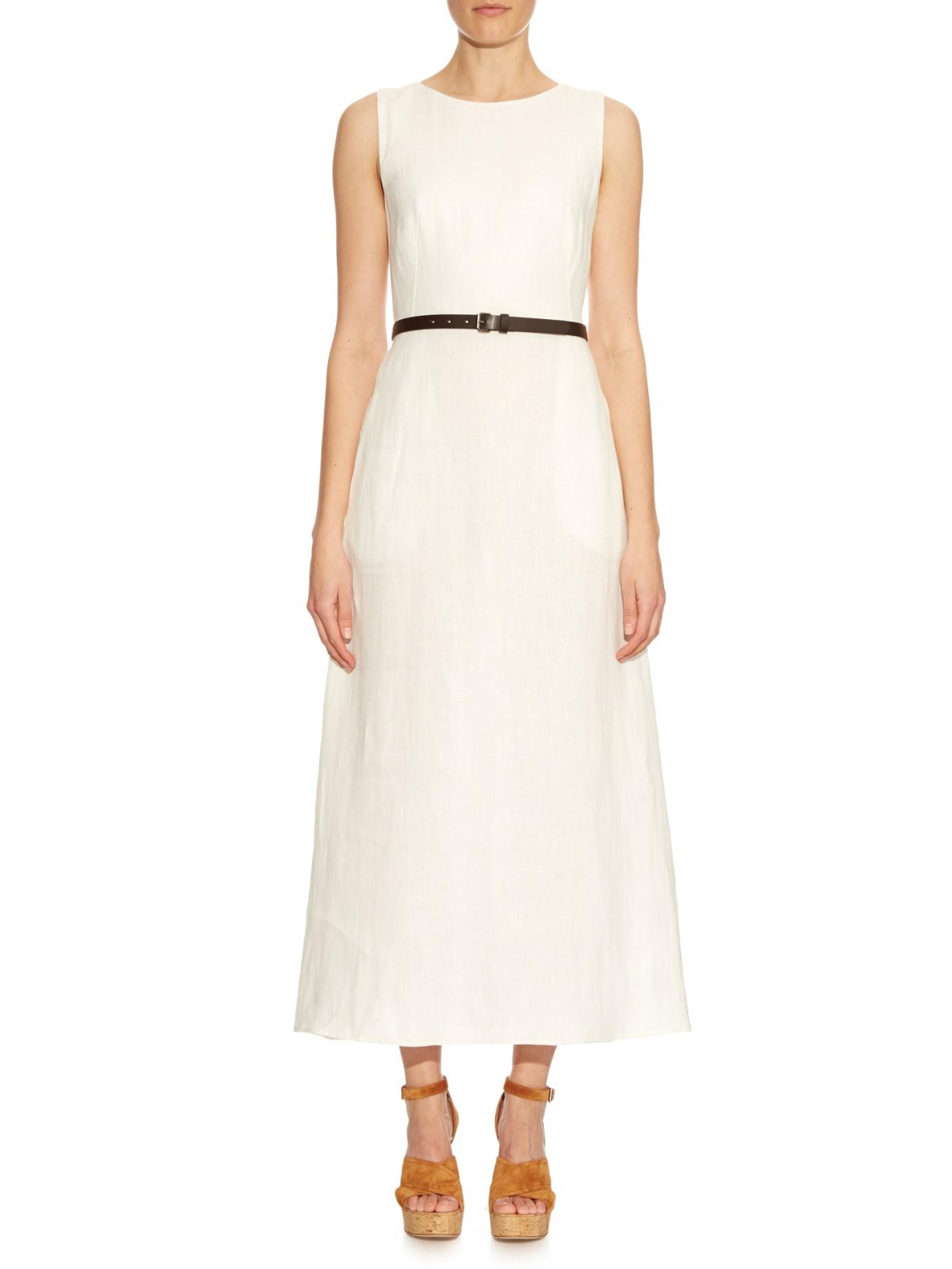 Lyst Weekend By Maxmara Amico Dress In White