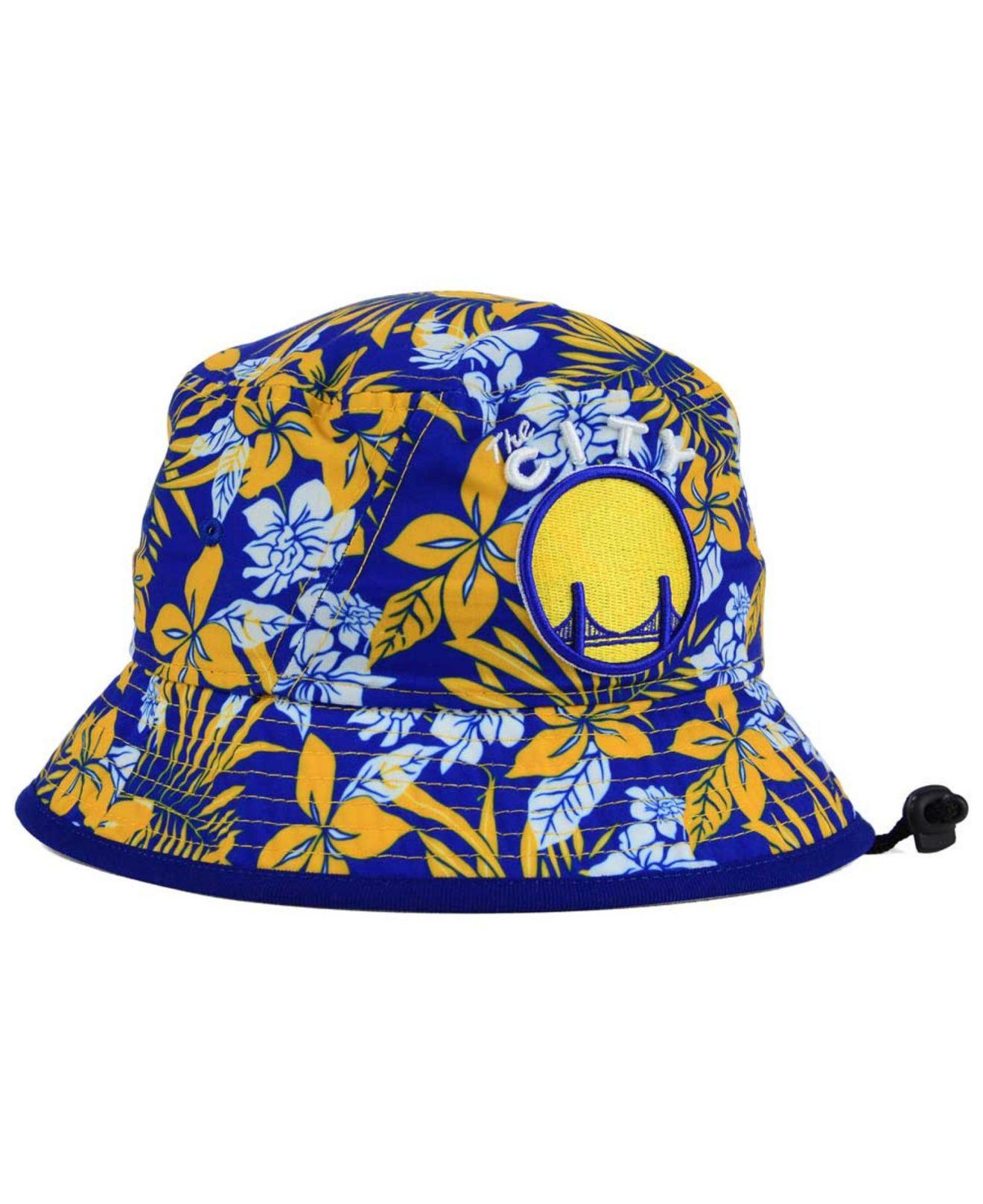 on sale e77cf 14b27 ... uk lyst ktz golden state warriors wowie bucket hat in blue for men  fb1f0 7dce8