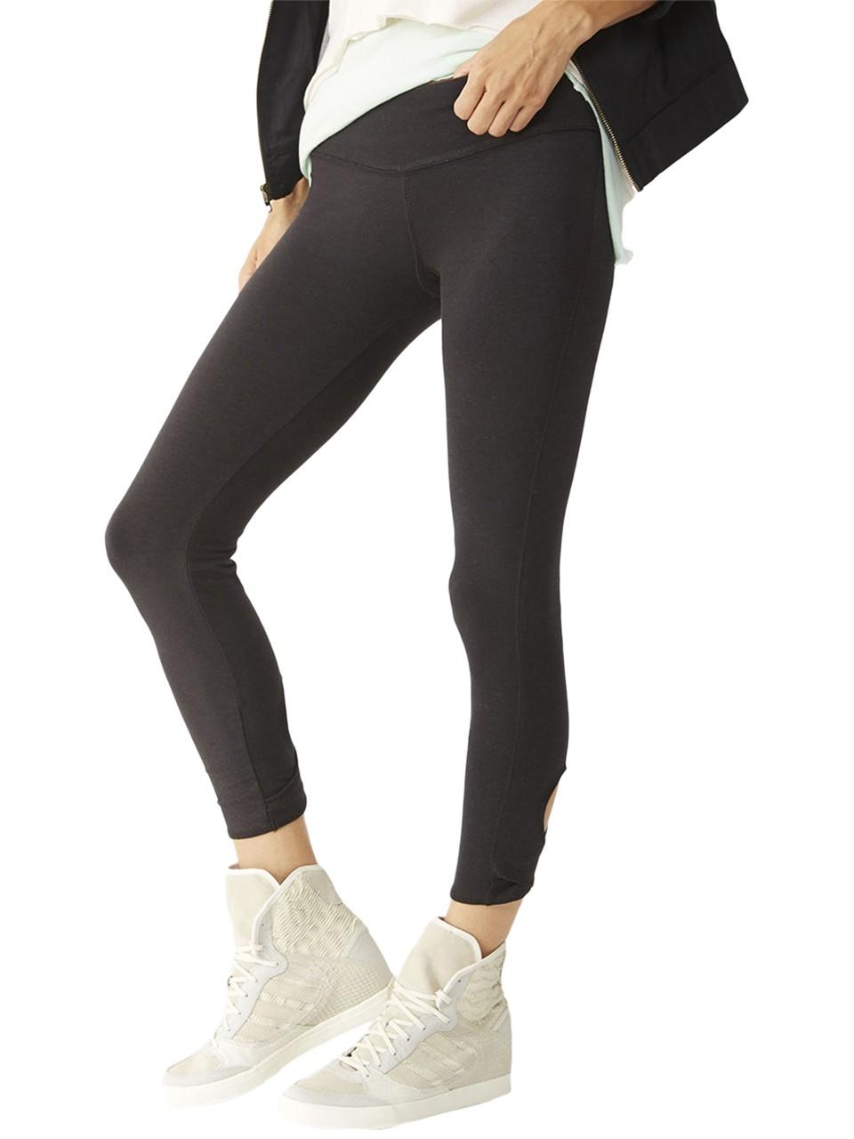 alternative apparel move it legging in black eco true
