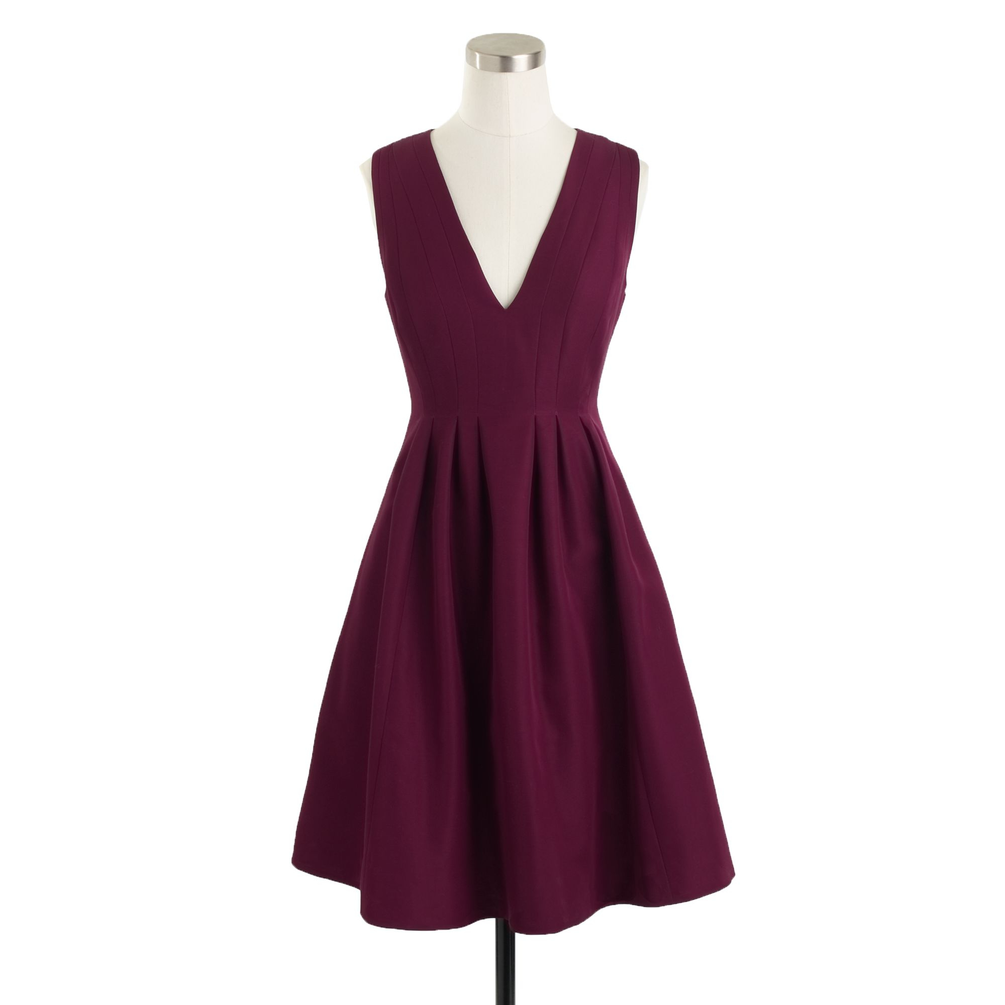 Sophie Dress: J.crew Sophie Dress In Classic Faille In Red (crushed