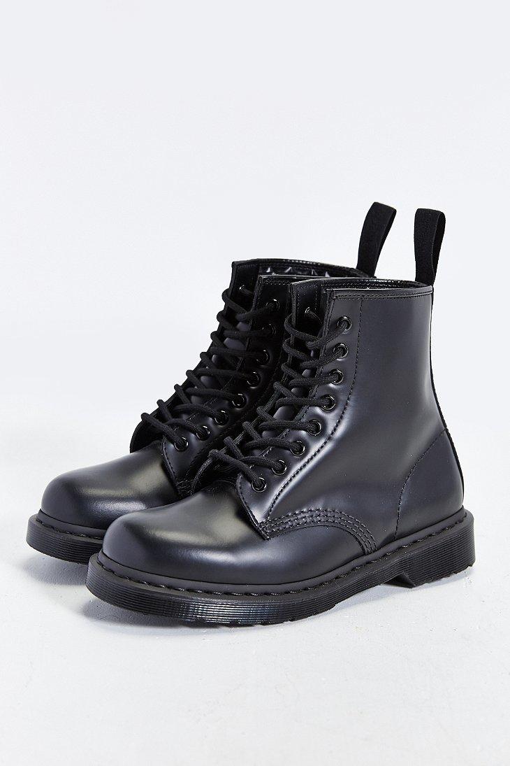af5b38e01 Dr. Martens 1460 8-eye Mono Boot in Black for Men - Lyst