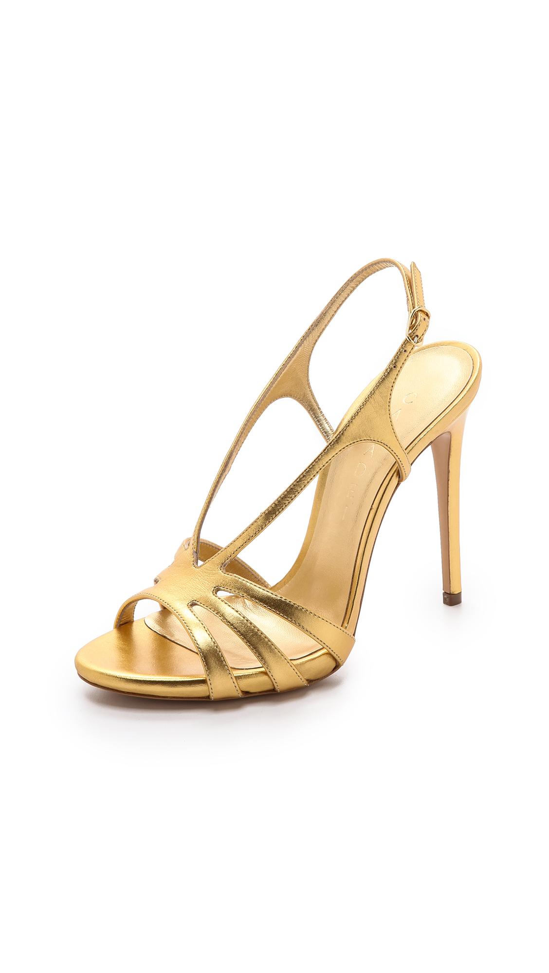 strappy sandals - Metallic Casadei pzLE7