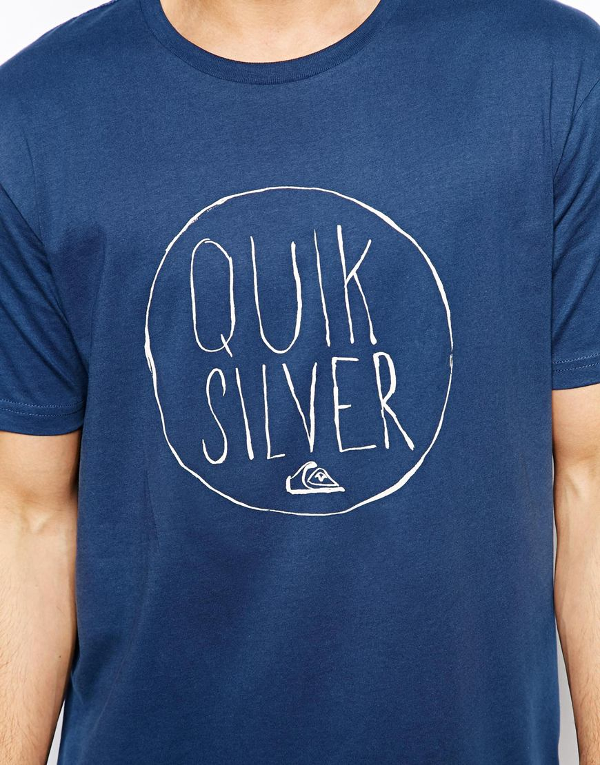 Quiksilver plain black t shirt - Gallery