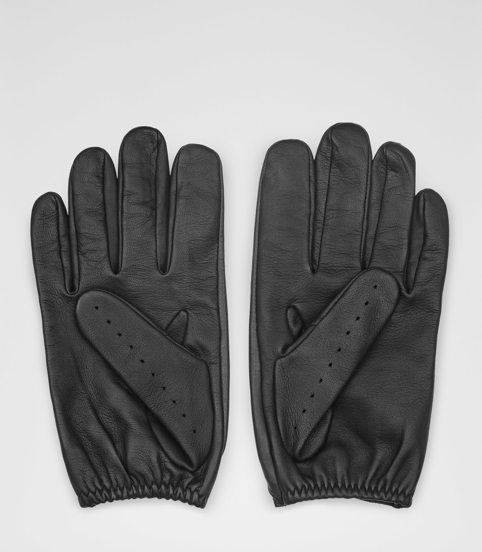 Ladies leather gloves navy - Blue Leather Gloves Mens