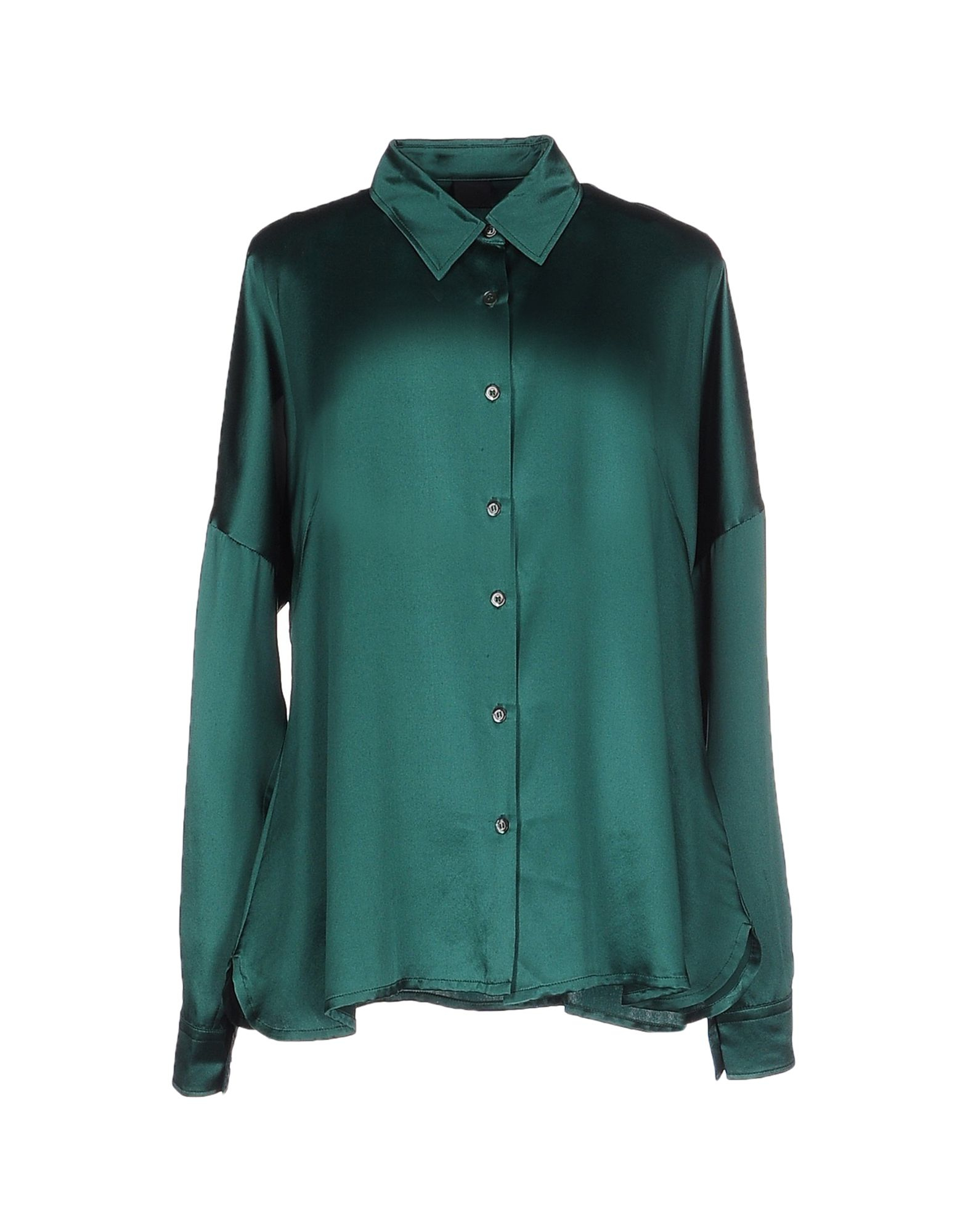 Aspesi shirt in green lyst Emerald green mens dress shirt