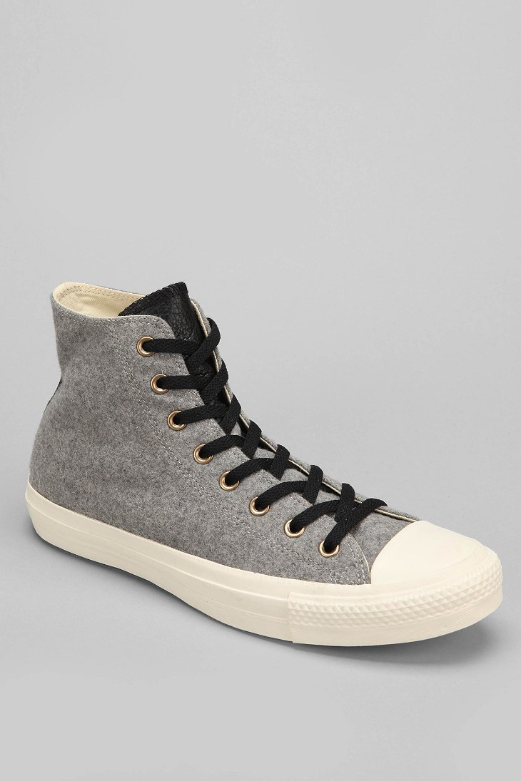fbc50296e122 Lyst - Converse Chuck Taylor All Star Wool Hightop Mens Sneaker in ...