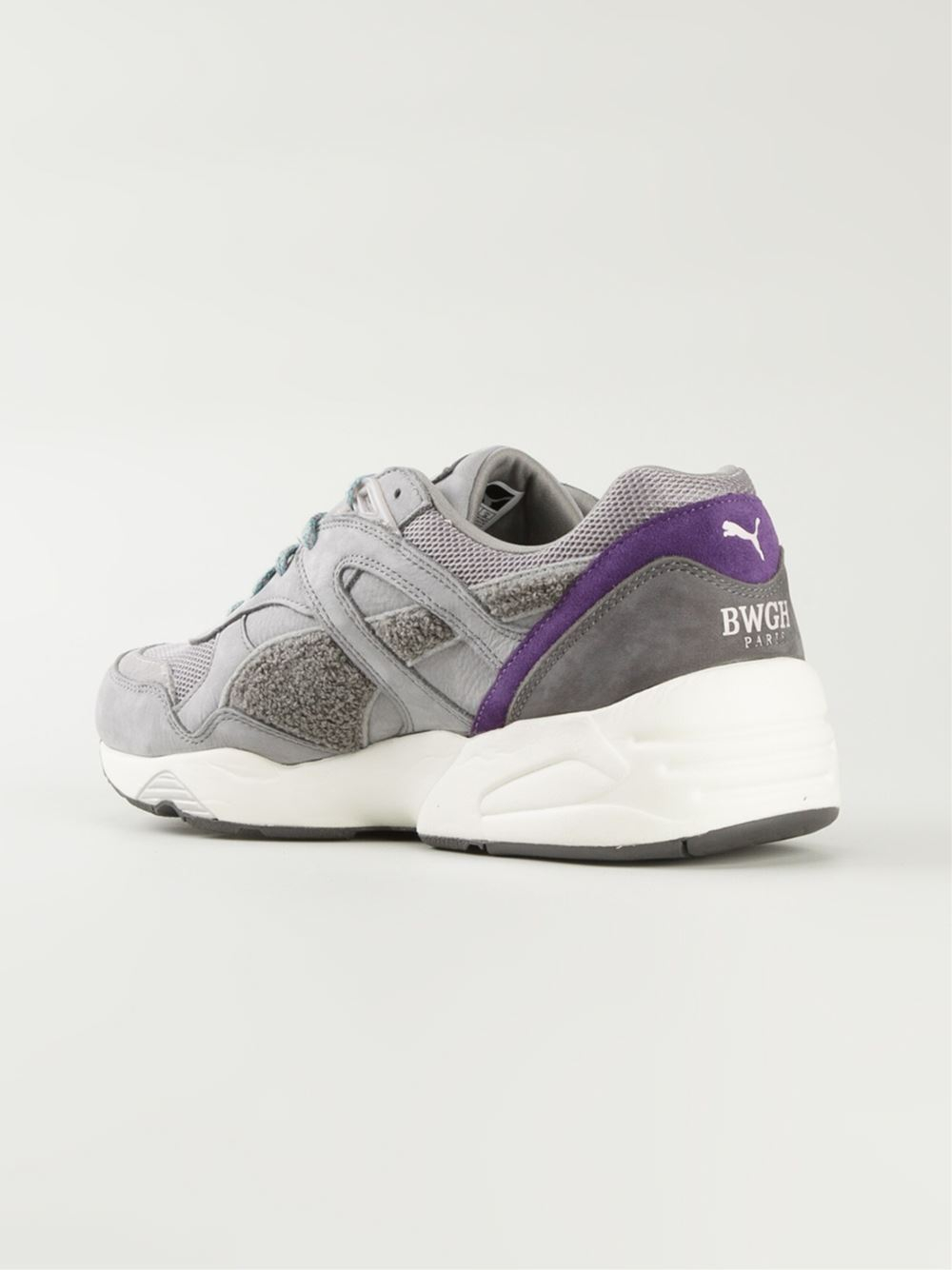 puma bwgh x 39 trinomic r698 39 sneakers in gray for men grey. Black Bedroom Furniture Sets. Home Design Ideas
