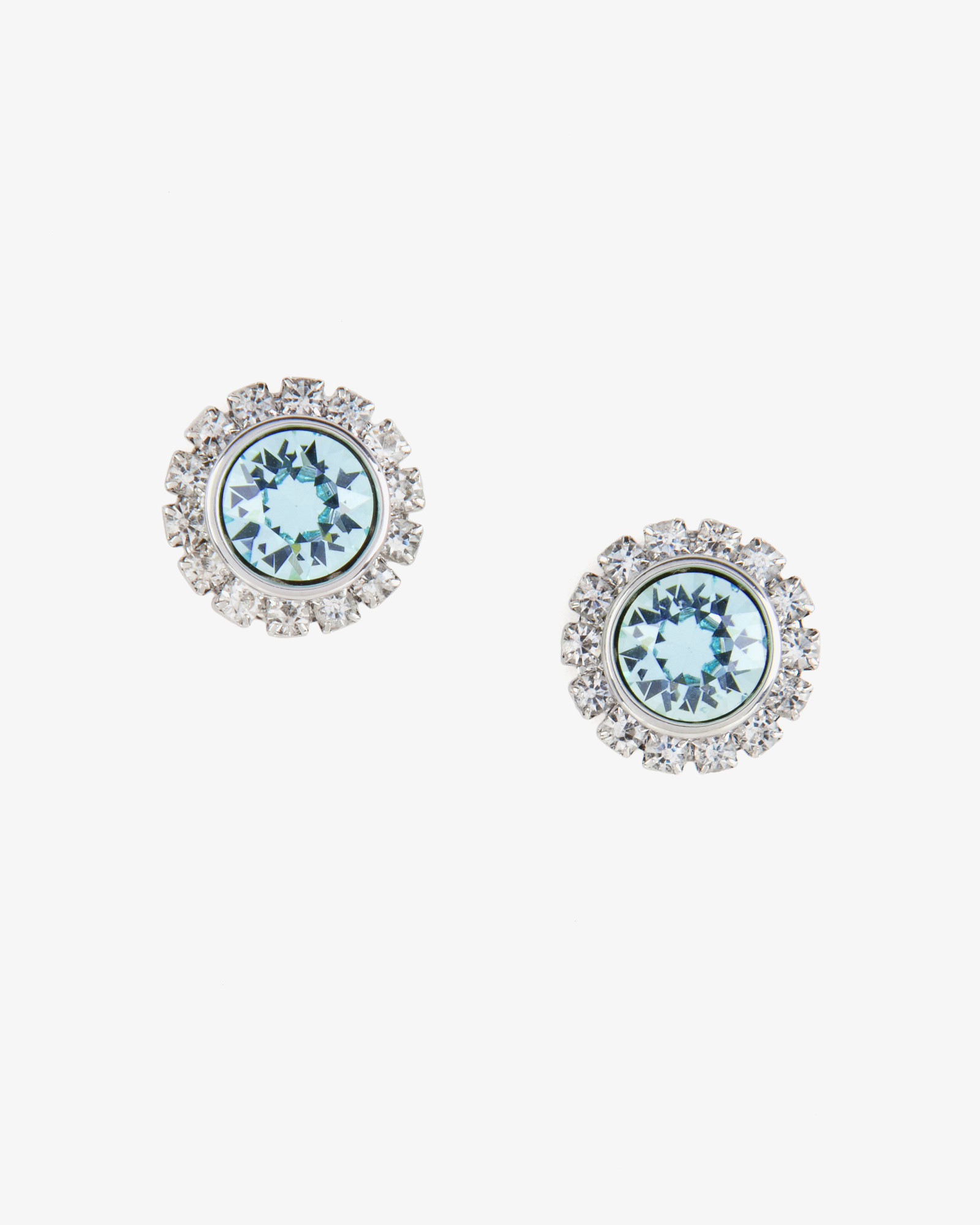 a359c9ab7 Ted Baker Crystal Stud Earrings in Blue - Lyst