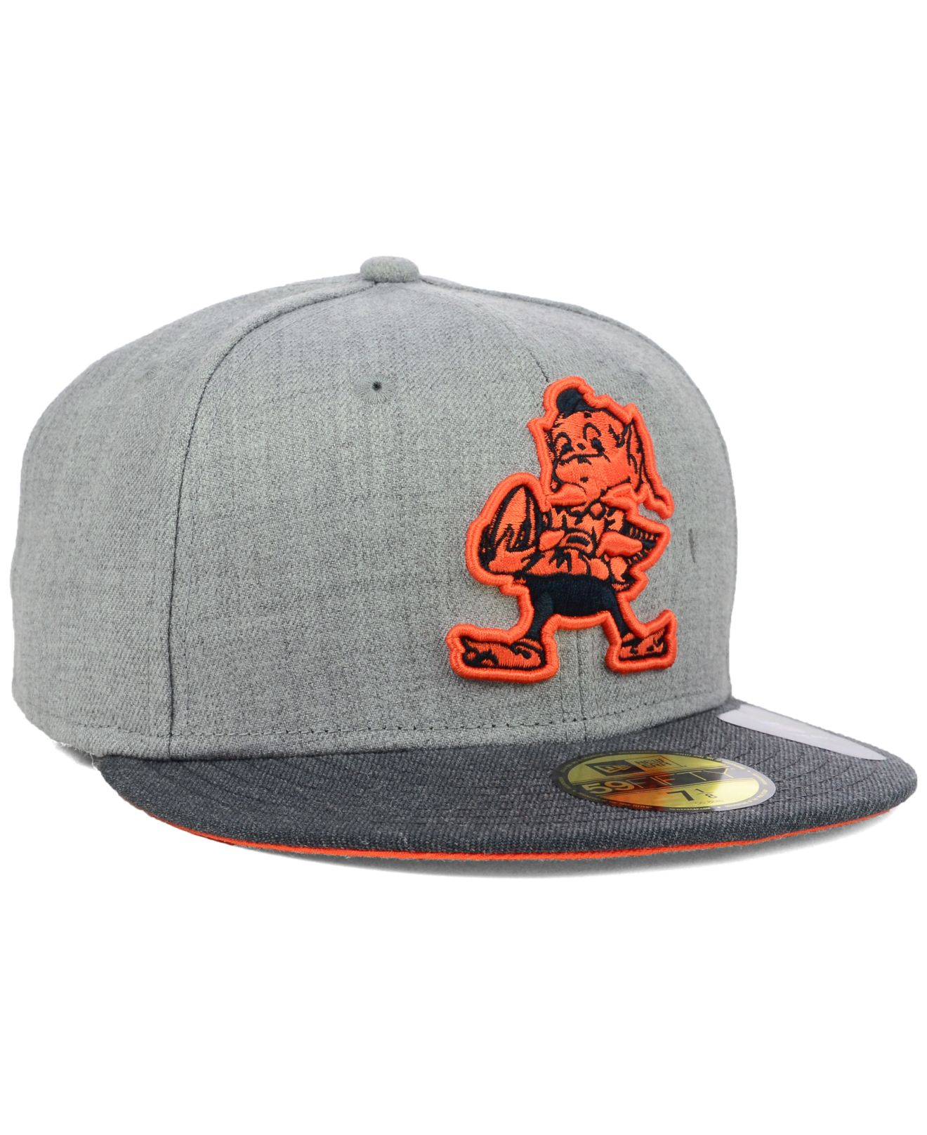 Men S Cleveland Browns New Era Gray 2015 Nfl Draft 59fifty