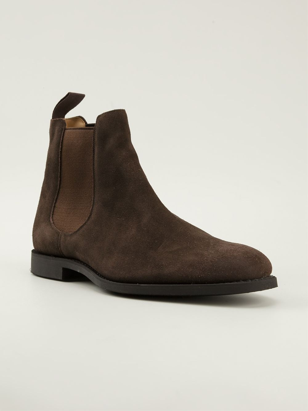 Lyst Church S Ely Chelsea Boots In Brown For Men