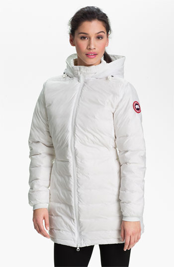 cheap canada goose womens camp down hooded jacket